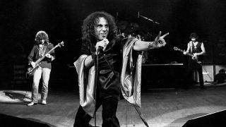 Black Sabbath onstage in 1980