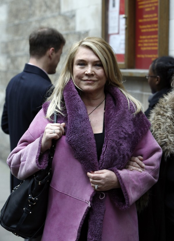 Amanda Redman and Lynda Bellingham's memorial service in February 2015