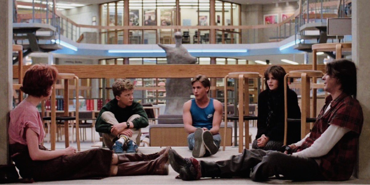 The Cast of The Breakfast Club