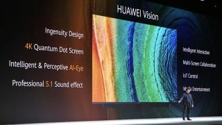 Huawei Vision is a 4K Quantum Dot TV packed full of AI