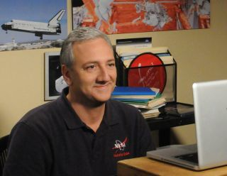 "Astronaut Mike Massimino on ""The Big Bang Theory."""