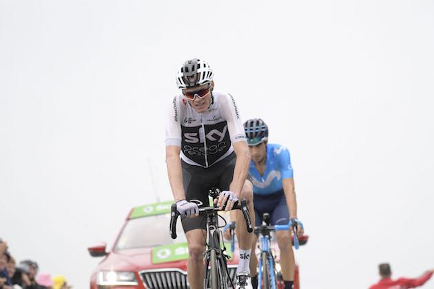 7f340bccf50 25 July 2018 105th Tour de France Stage 17 : Bagneres-de-Luchon -  Saint-Lary-Soulan FROOME Christopher (GBR) Sky Photo : Yuzuru SUNADA