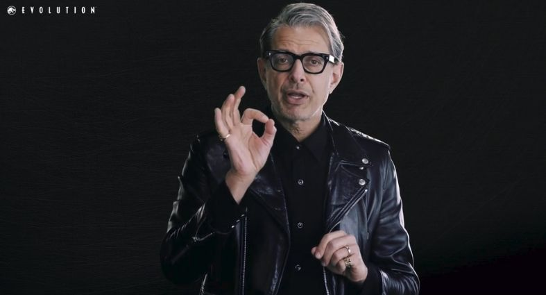 Jeff Goldblum will be 'with you the whole game' in Jurassic World Evolution