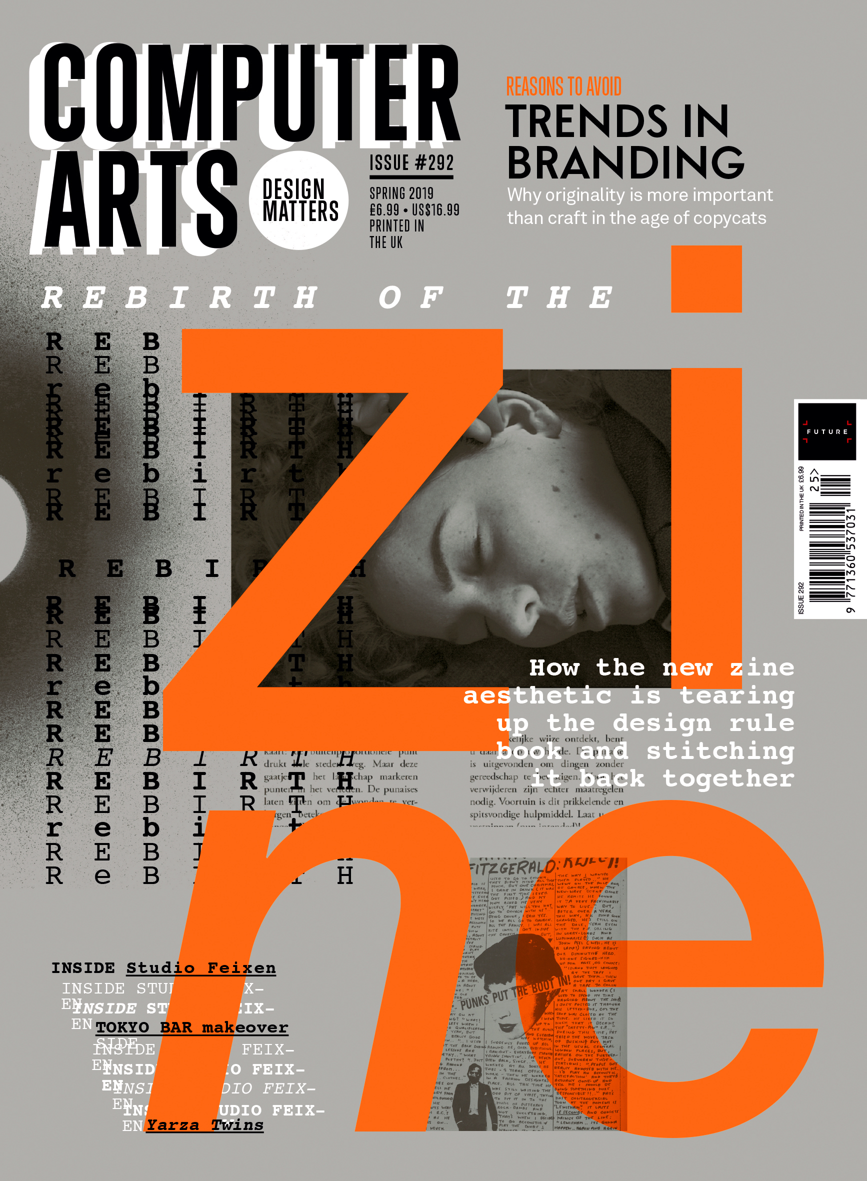 Discover the art of the zine with Computer Arts 292