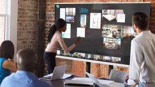 Optoma interactive flat panel display