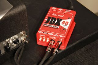 Radial Ships JDX 48 Amplifier Direct Box