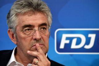 Groupama-FDJ cycling team manager Marc Madiot