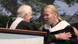 Jimmy Carter and Gregg Allman
