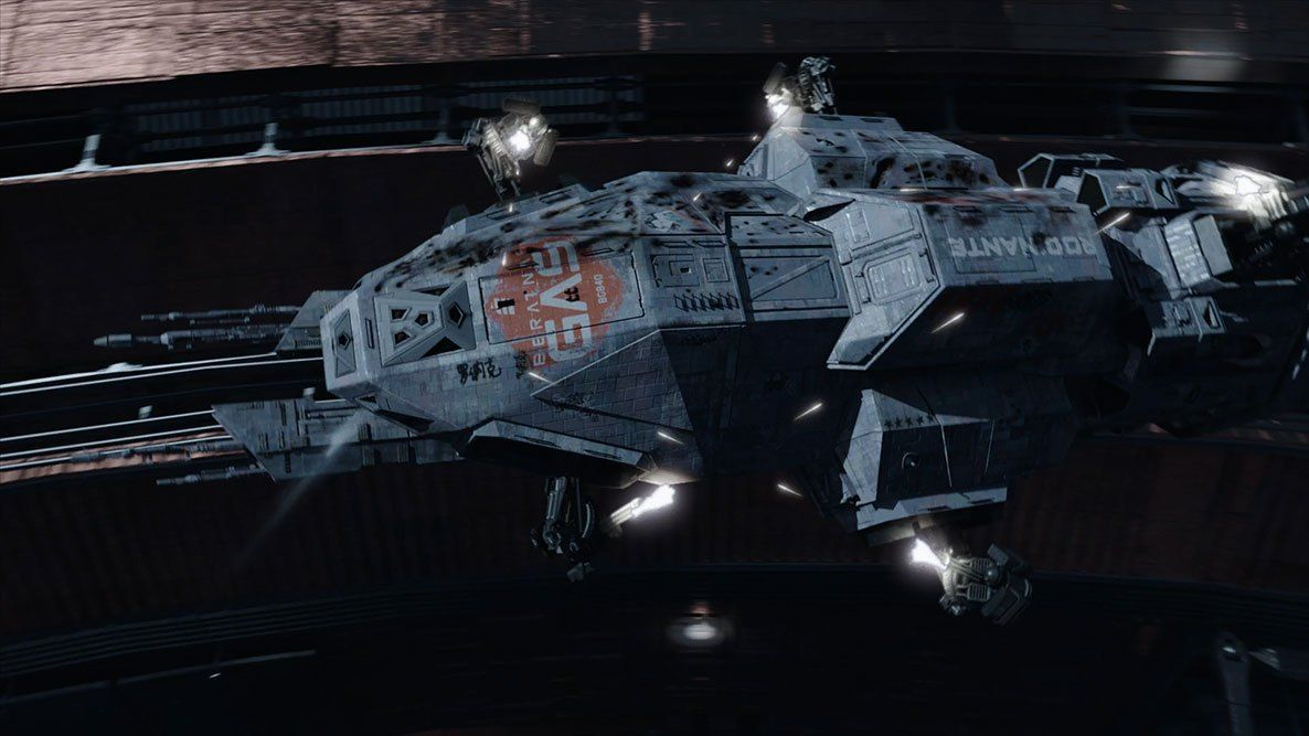 The Expanse VFX team has released an astoundingly pretty sizzle reel