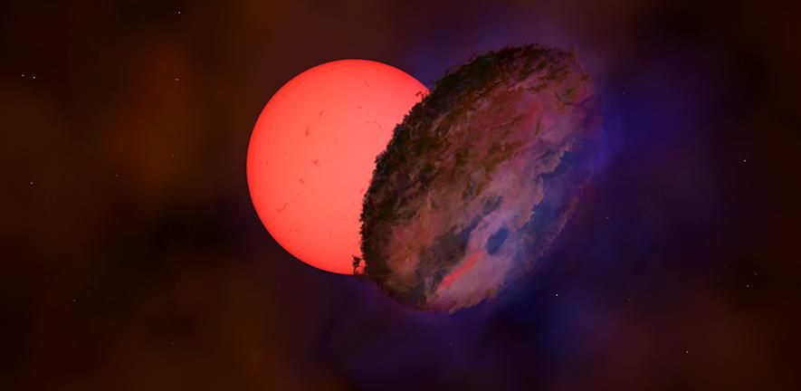 Strange 'blinking star' defies all explanation