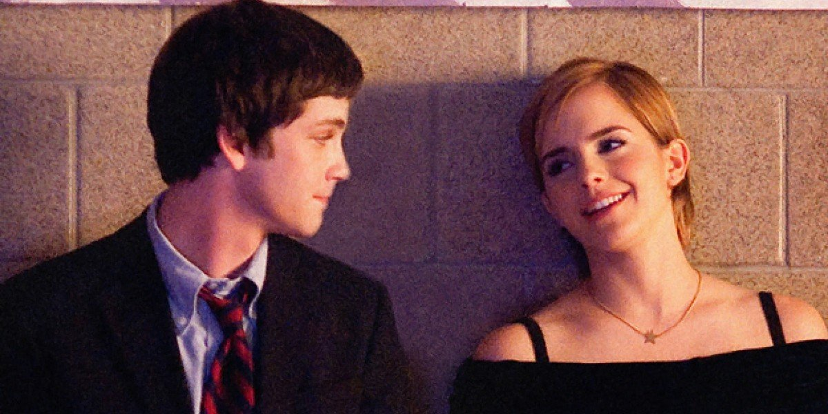 Emma Watson and Logan Lerman in Perks of Being a Wallflower