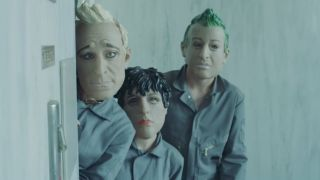 A still from Green Day's Bang Bang video