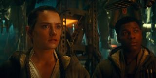 Rey and Finn in Star Wars: The Rise of Skywalker
