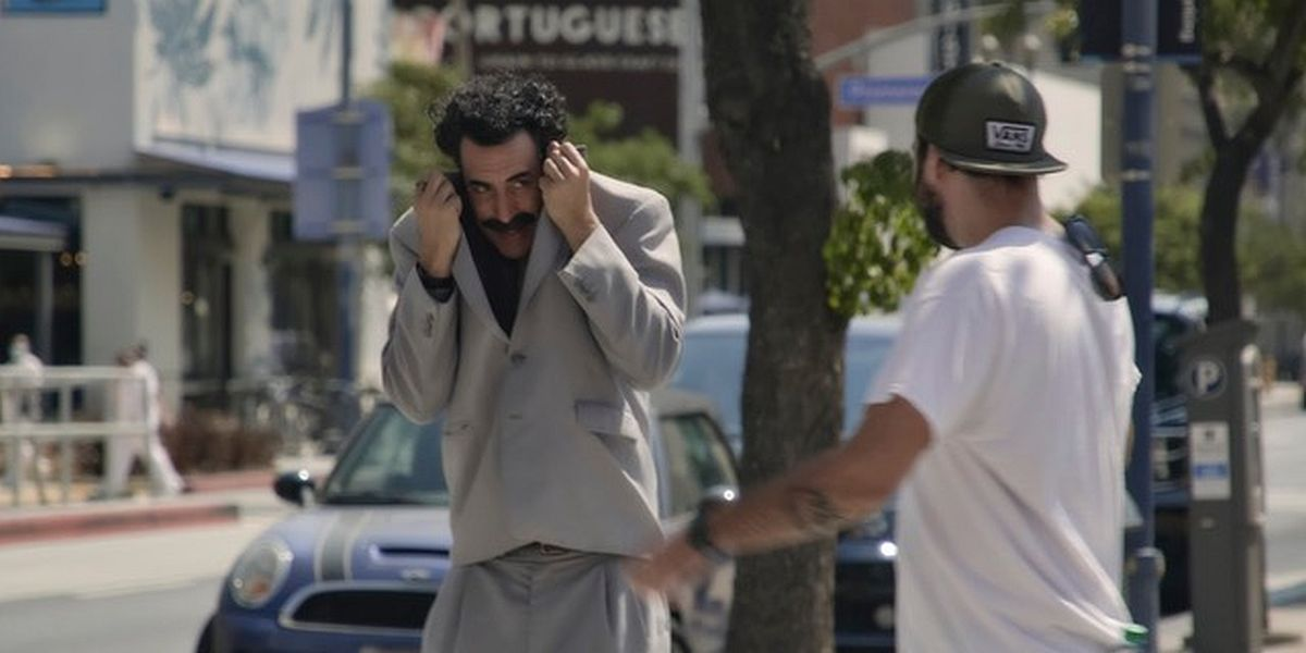 Why Sacha Baron Cohen Was 'Concerned' When It Came To Borat 2's Controversial Rudy Giuliani Scene
