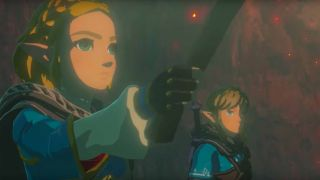 Zelda and Link in Breath of the Wild 2