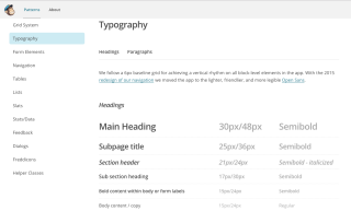 MailChimp's typography rules (click to see the full guide)