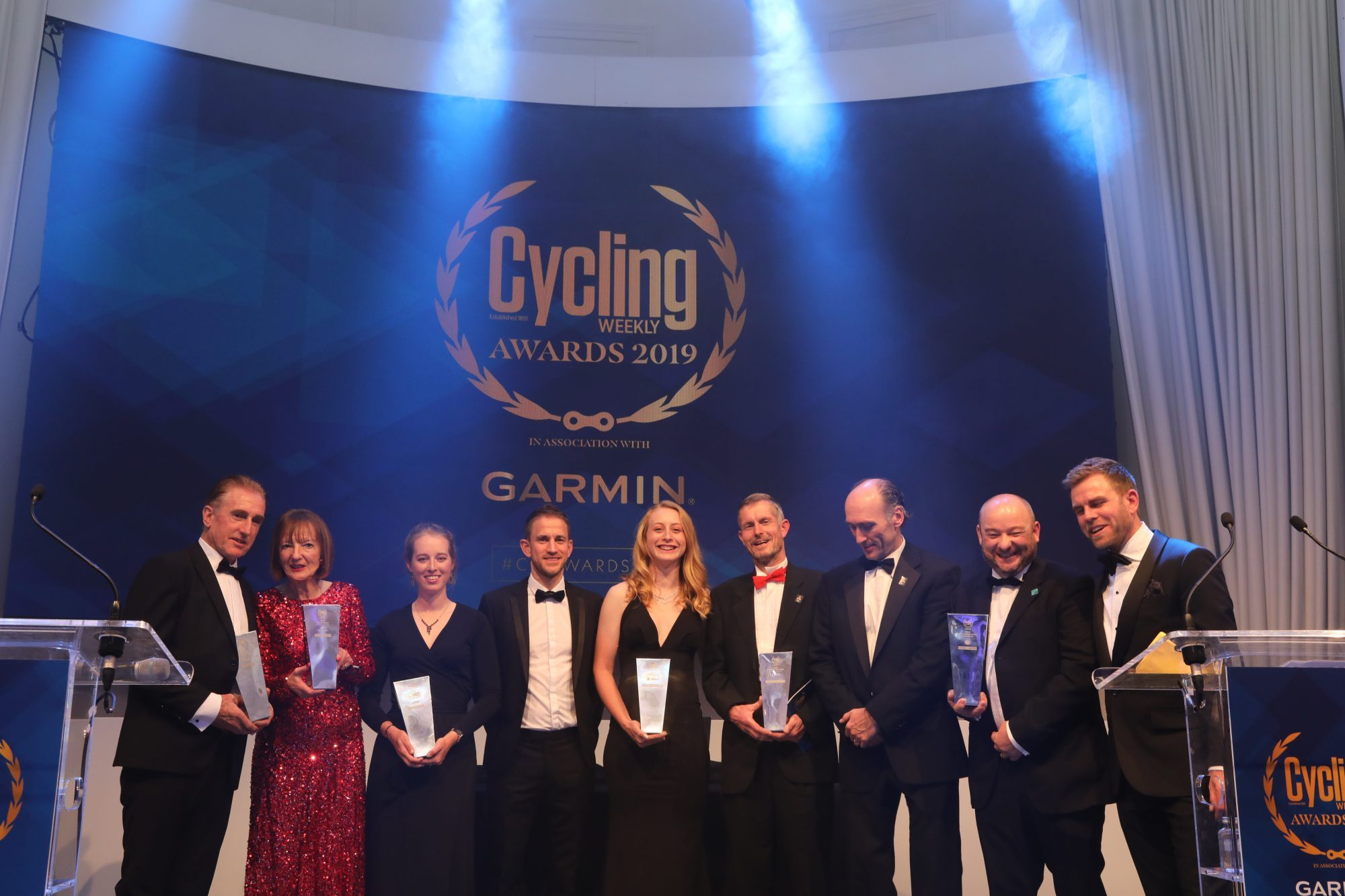 Winners announced in Cycling Weekly Awards 2019 in association with Garmin