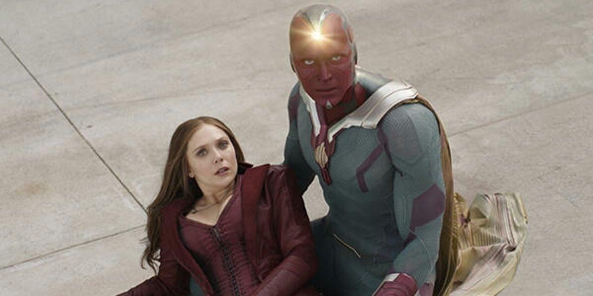 Elizabeth Olsen, Paul Bettany - Captain America: Civil War