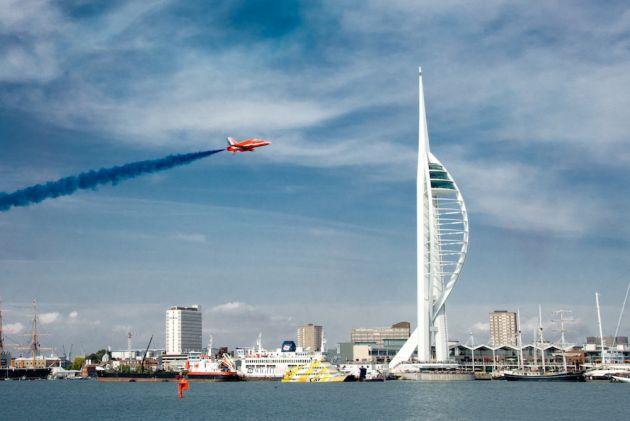 Portsmouth's Spinnaker Tower (Photo: Flickr/David Blaikie)