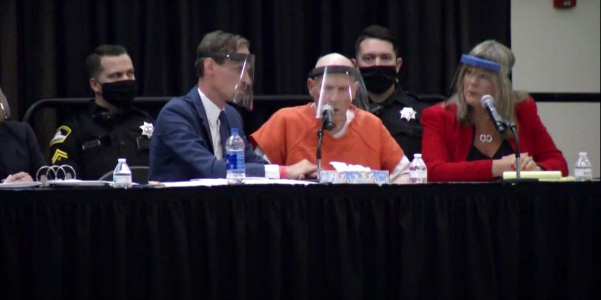 Joseph DeAngelo at his June 2020 plea hearing