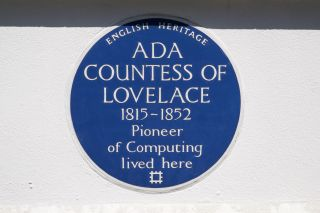 Ada Lovelace placard