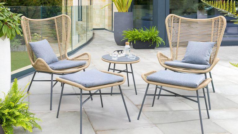 best garden furniture: Kettler Lyon Lounge Set