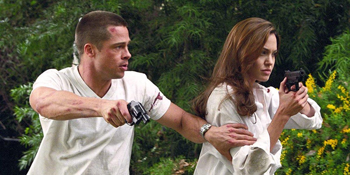 Mr. And Mrs. Smith (2005) Brad Pitt and Angelina Jolie