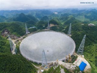 China's Huge New Radio Telescope