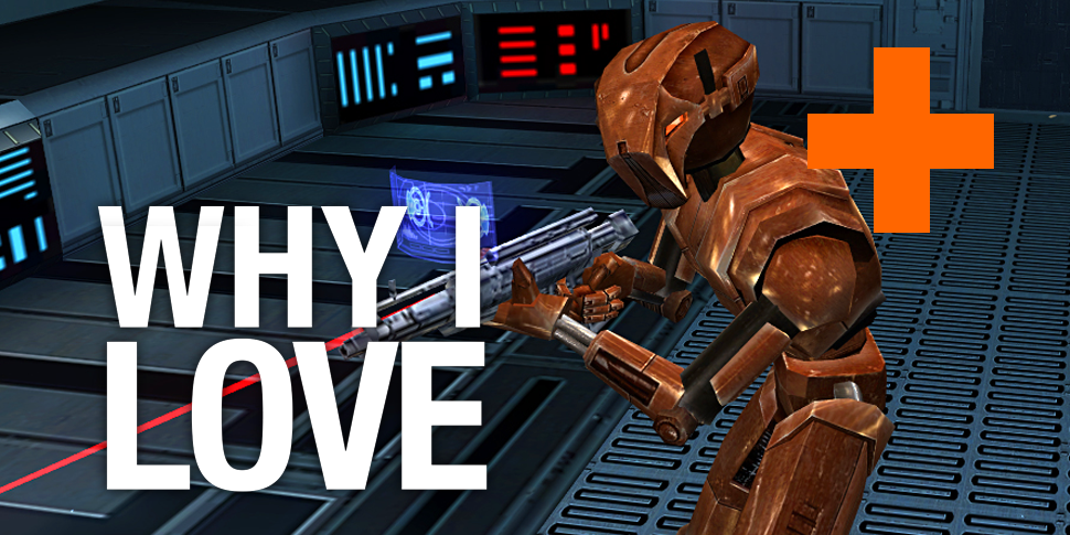 Why I Love: showing HK-47 the Light Side in Knights of the Old
