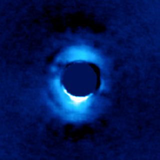 Planet-forming material at HD 141569A