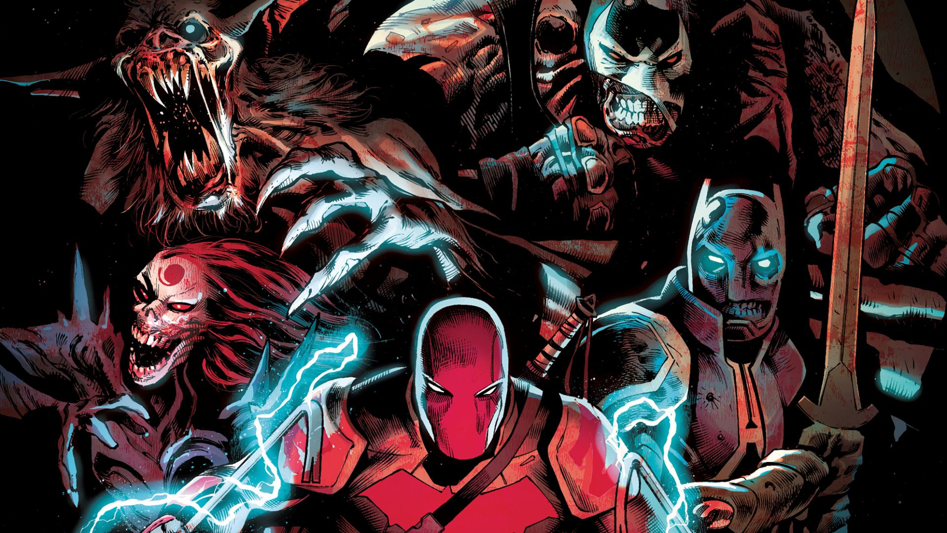 Justice League and Suicide Squad fight vampires and become the undead in  October DC comics | GamesRadar+