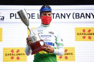 João Almeida (Deceuninck-Quickstep) leads the Volta a Catalunya after the stage 2 time trial