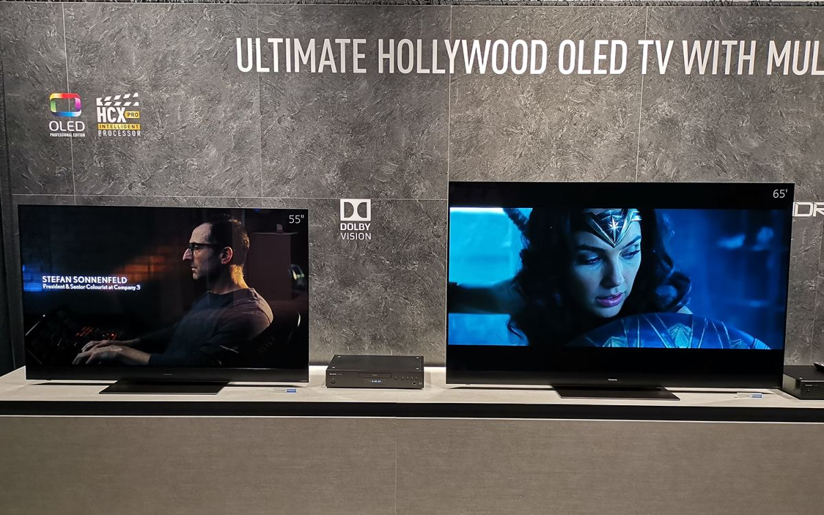Panasonic GZ2000 OLED TV Hands-On: Come for the Picture