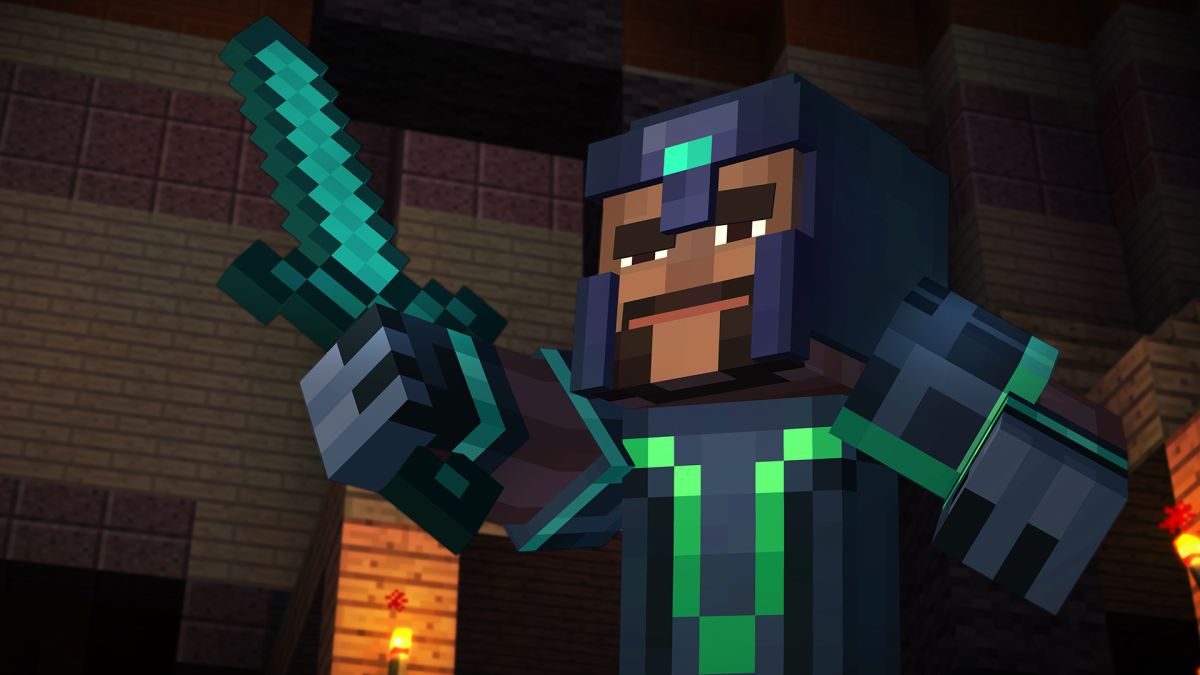 Minecraft: Story Mode, Episode 1 Review — Go Behind the