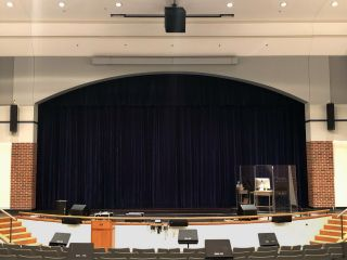 South Windsor H.S. New Audio System Powered by Renkus-Heinz