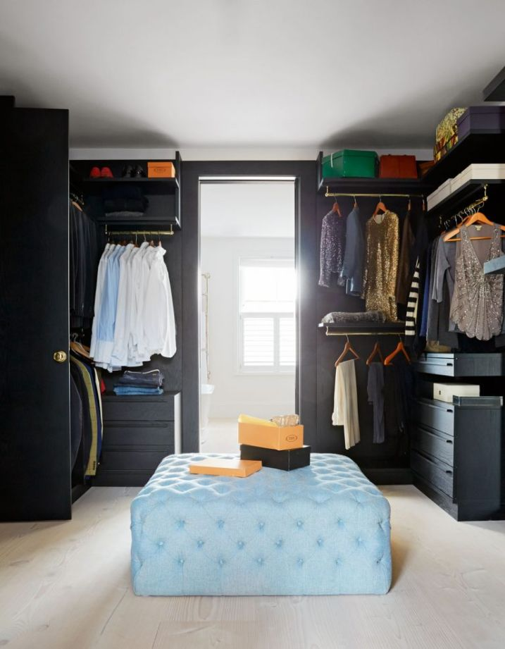 Modern dressing room ideas decorating and design - Bedroom layout ideas for rectangular rooms ...
