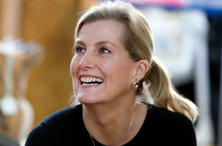 sophie countess wessex tested coronavirus royal tour