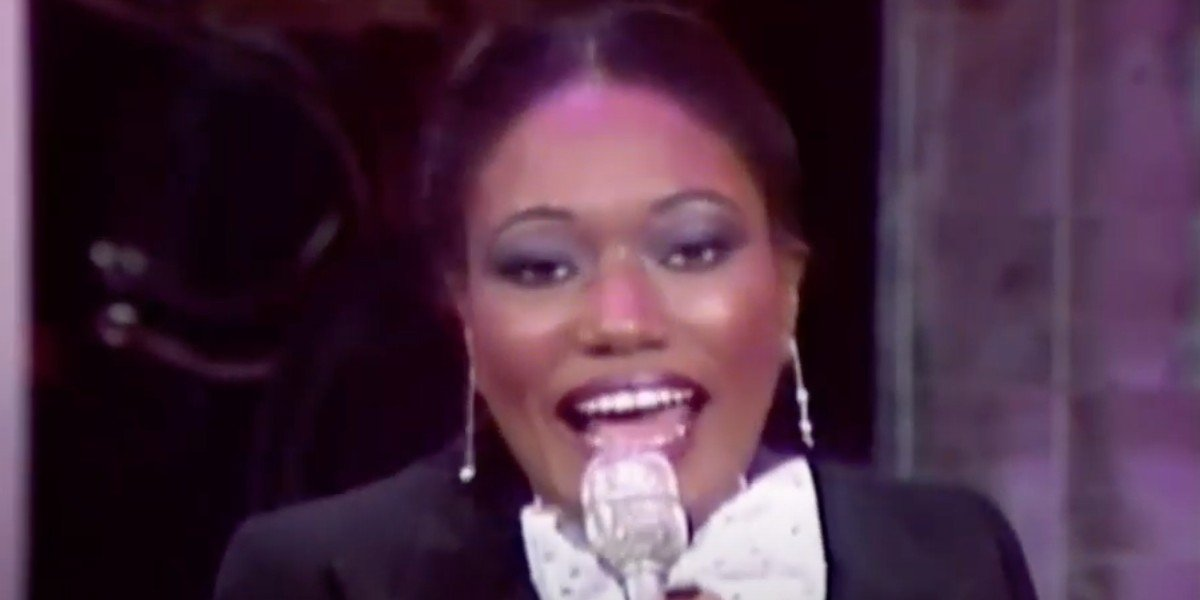 Bonnie Pointer performing (1979)