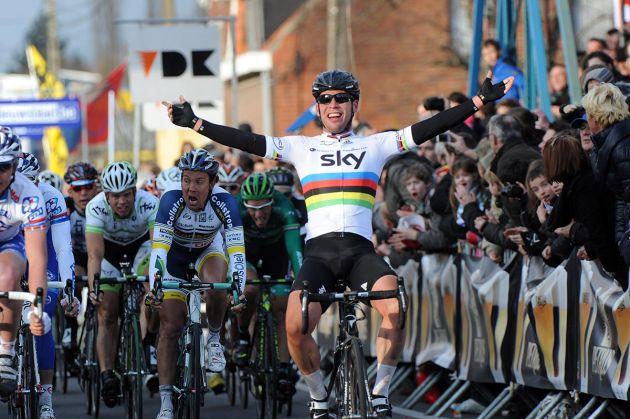 Mark Cavendish wins Kuurne-Brussels-Kuurne