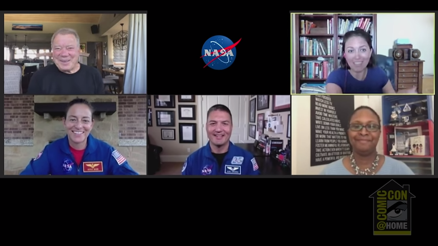 William Shatner of 'Star Trek' fame hints at a private trip to space