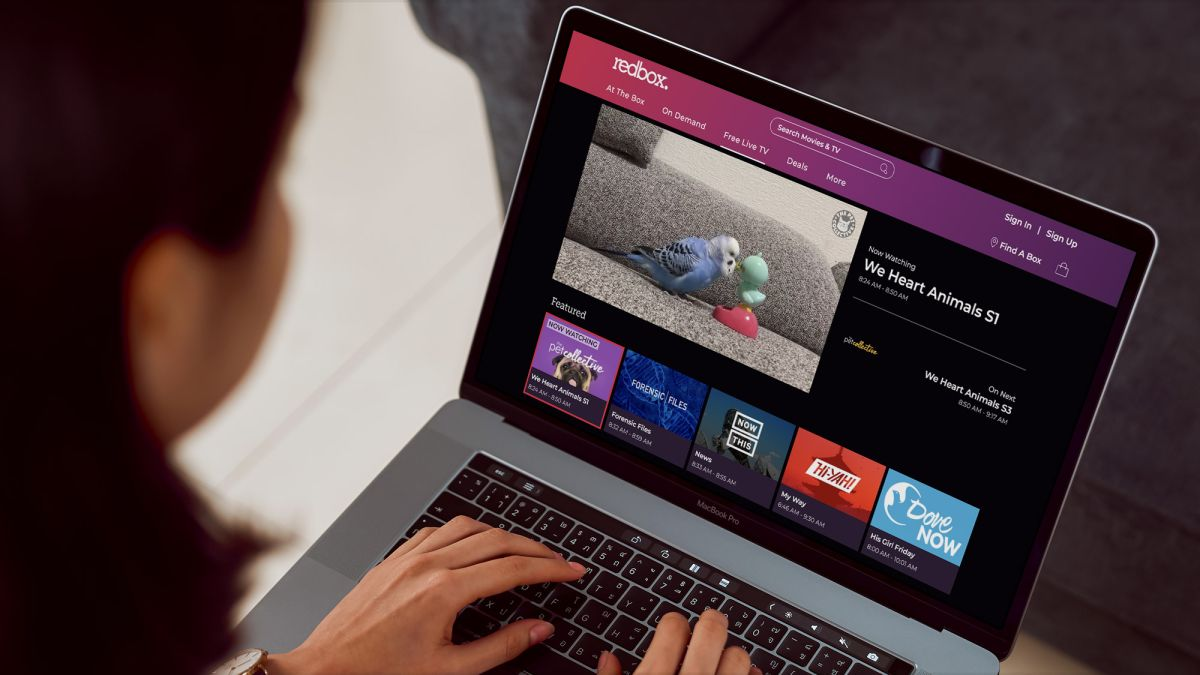 Redbox is back from the dead and targeting Netflix with free 'live' TV