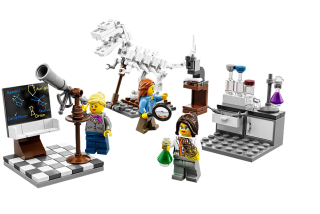 The new LEGO Research Institute kit
