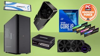 PC Gamer extreme gaming PC build guide