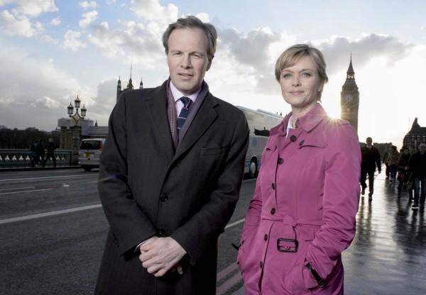 Tom Bradby and Julie Etchingham