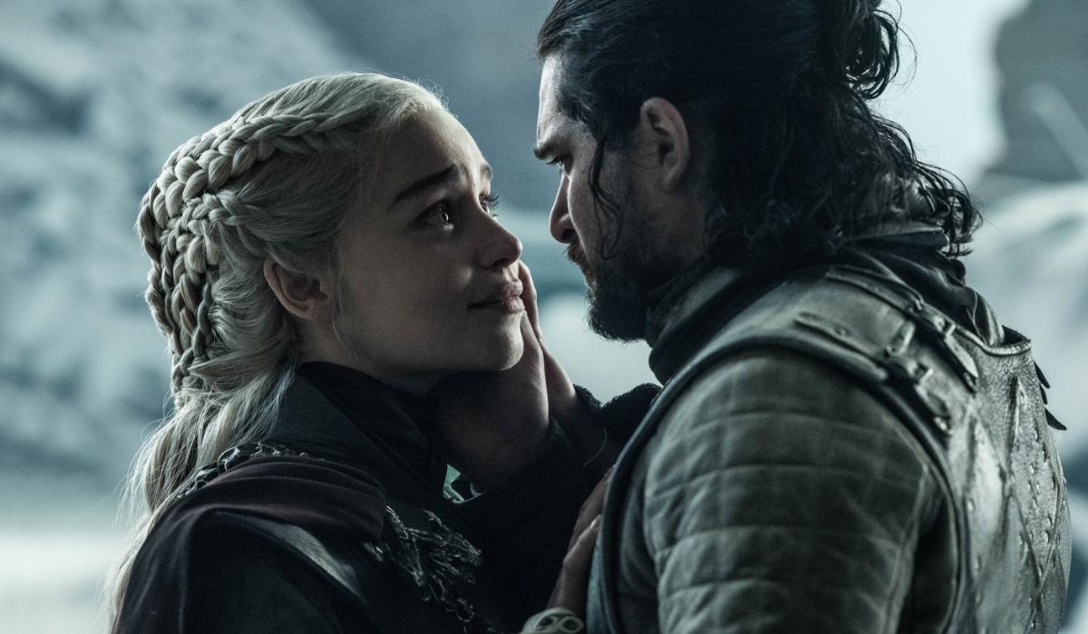Game of Thrones Daenerys Targaryen Emilia Clark Jon Snow Kit Harington HBO
