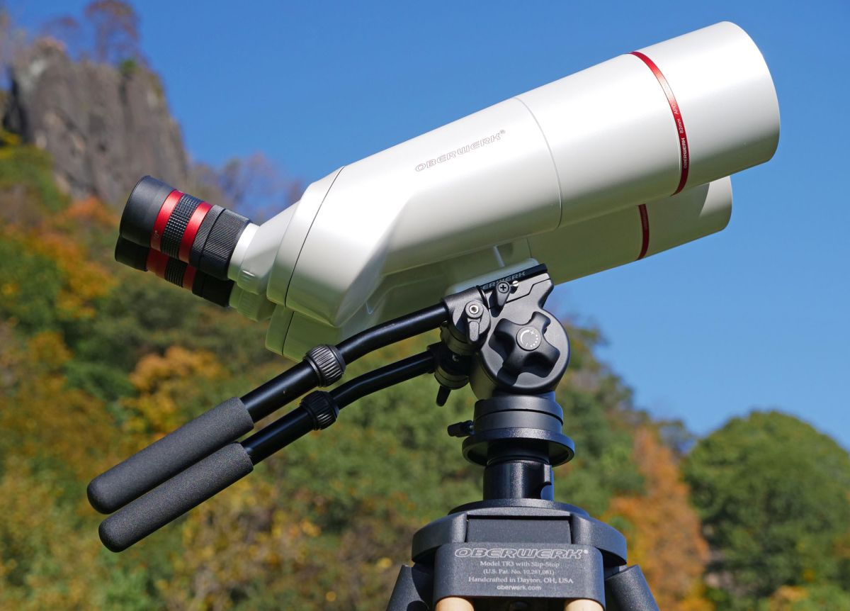 Oberwerk's BT-XL-ED binocular telescopes bring nature's best of night and day