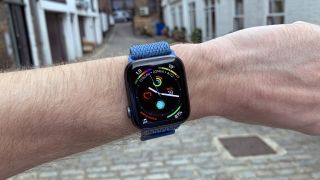 The Apple Watch 4's screen comes in two sizes