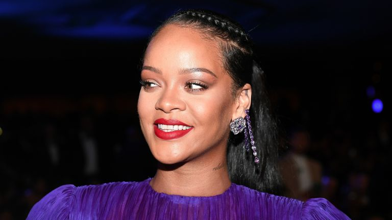 Rihanna attends the 51st NAACP Image Awards, February 2020