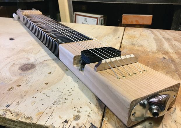 The DIY Musician How to Build a 2x4 Lap Steel Guitar