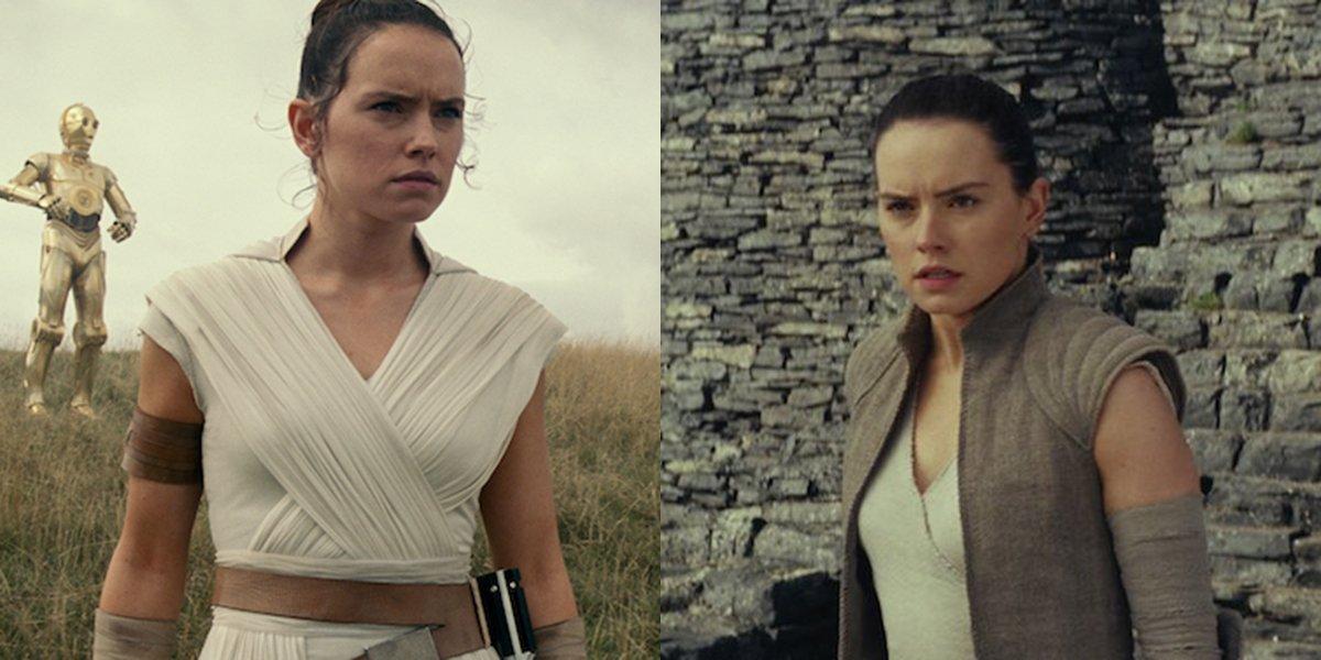 Rey in Episode VIII and Episode IX